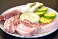 【7/31受付終了】AD704-C田んぼ豚バラブロック4kg・放牧とお米で育った希少な豚肉【37000pt】