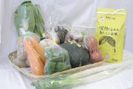 R009旬の野菜詰め合わせ&あきたこまち新米2kg【10,000pt】