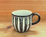 恵水窯 しのぎマグカップ1柄