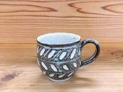 恵水窯 しのぎマグカップ2柄