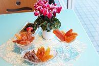 美しさと美味しさを楽しむ♪ギュッと凝縮福島産セミドライフルーツ5つの味の5袋セット