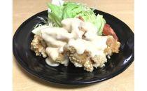 老舗 西山料理店の手作りチキン南蛮400g(手作りタレ付き)×4P