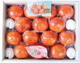 松岡農園最高級冷蔵富有柿特撰2L14個入り