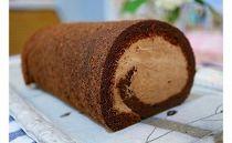 ショコラスフレロールケーキ