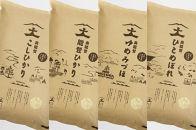 【食べくらべの定期便】奥能登産のお米4品種の中から毎月ひとつの品種をお届け(1袋5kg入り)