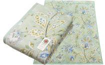 日本製 綿ニューマイヤー毛布 カラー:グリーン