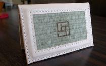 青柳畳店tatami-namecase畳名刺入れ焼き印タイプ