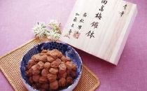 【ギフト】南紀男山焼き鑼鉢入 うす塩味梅1Kg