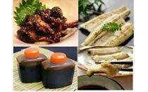 鹿児島県大隅産 千歳鰻の鰻白焼3尾・鰻焼肝・蒲焼のタレセット