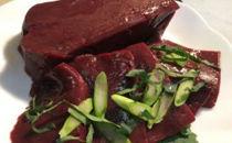 【ネット限定】里山のお肉屋さんがお勧めする厳選栃木牛!生レバー(加熱用)