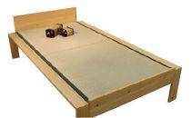 福岡県大川市産KOTO畳ベッドヒノキ材セミダブルサイズ(畳付き・組立込)