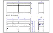 【プッシュオープンリビングボード ウォールナット180cmlb41】幅180cmウォールナット材のリビングボード・プッシュオープンタイプ<ウォールナット材 オイルフィニッシュ>mufactory