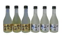 九州菊純米吟醸・吟醸セット 300ml×6本
