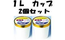 高知自慢 1×1=1のアイスクリン1L入り2個
