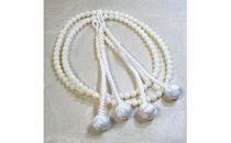 【女性用】空海ゆかりの珊瑚の本連数珠~四国88ヶ所お遍路に~