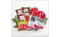 明神水産 藁焼き鰹(カツオ)たたき2節・鰹の湯かけ4袋セット
