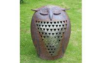 フクロウのランプシェード(中)