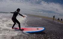 九十九里浜でサーフィン体験&バーベキュー&宿泊