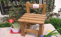 使い方いろいろ 椅子型飾り台 中