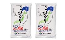 東西しらかわみりょく満点コシヒカリ精米(10kg)