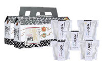 栃木市の人気洋菓子店「ソワール」酒蔵めぐり(日本酒ゼリー)セット