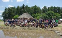 尊徳さんの田んぼで米づくり体験(田植え&稲刈り体験コース)