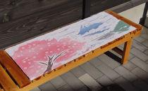 オリジナル富士に桜手拭