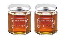 琥珀色の誘惑 日本蜜蜂のハチミツ「とろみつ」2本セット