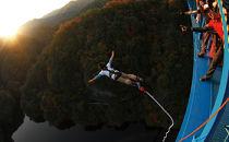 高さ最大100m「日本一のバンジージャンプ」体験クーポン3名様分