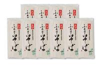 魚沼ふのりそば10束箱入(乾麺)