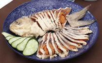 鮒寿司1匹スライス