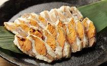 近江米でじっくり熟成発酵させた国産の天然子持ち鮒寿司スライス特大(箱入り)
