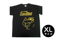 いとしまPR隊 オリジナルTシャツ 黒色・XLサイズ