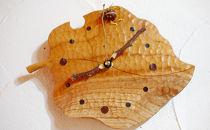 木の葉のクロック