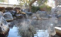矢板市城の湯やすらぎの里、温泉センター入浴回数券(12回券)