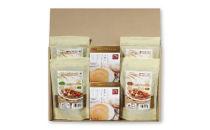 お米でつくったカレールゥとパンケーキの粉セット