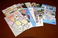 岡山県玉野市広報紙「広報たまの」一年分と「渋川マリン水族館年間パスポート」のセット