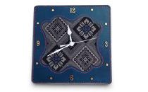 大島紬 壁かけ時計