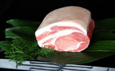 【日出ポーク】ブロック豚肉(ロース)1000g