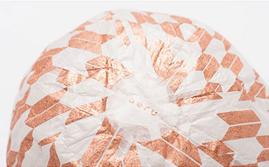『愛媛県から五十崎和紙の紙風船(矢絣)』