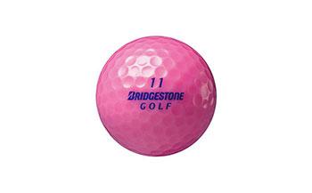 AF10ゴルフがもっと楽しくなるBRIDGESTONEゴルフボールLADYピンク【80P】