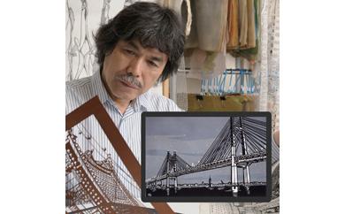 久保修ジクレー版画 6横浜ベイブリッジ
