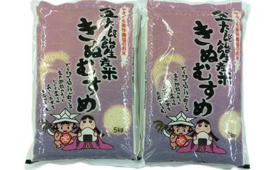 美祢産金太郎生産米「きぬむすめ」