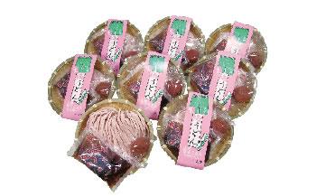 丸ざる梅うどん 8食