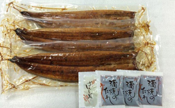おおさきうなぎ(鹿児島県産うなぎ長蒲焼)お徳な3尾(小)セット