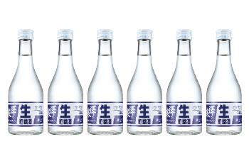 L7045-C本醸造生貯蔵酒 300ml×6本セット【まなむすめ使用】【12000pt】