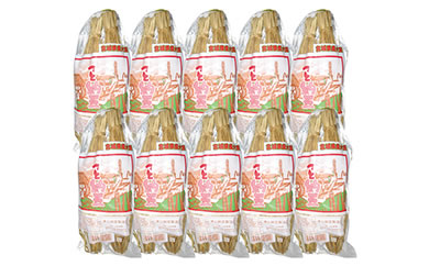 TS701-C宮城県産大豆を使用昔ながらの味わい「つと納豆2本入り(たれ付き)」×10袋【10000pt】