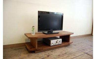 【無垢材のコンパクトテレビ台】miniテレビボード80ウォールナット