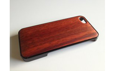 iphonese,5,5s用天然木ジャケット【パドック】