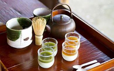 プレミアム茶畑プリン食べくらべセット